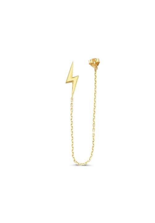 Lightning Capucine Küpe